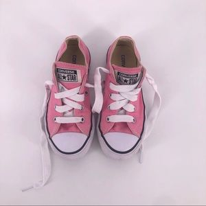 Other - Converse All Star Pink Size 12.5 Low Tops